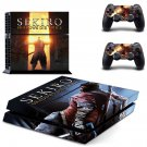 Sekiro Shadows Die Twice decal skin sticker for PS4 console and controllers