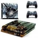 The Elder Scrolls 6 decal skin sticker for PS4 console and controllers