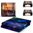 Starfield decal skin sticker for PS4 console and controllers