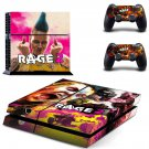 Rage 2 decal skin sticker for PS4 console and controllers