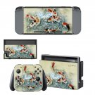 Fish Wallpaper decal skin sticker for Nintendo Switch console and controllers