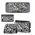 Floral Wallpaper decal skin sticker for Nintendo Switch console and controllers