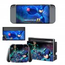Mega Man 11 decal skin sticker for Nintendo Switch console and controllers