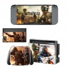 Battlefield 5 decal skin sticker for Nintendo Switch console and controllers