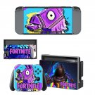 Fortnite decal skin sticker for Nintendo Switch console and controllers
