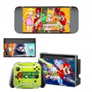 Mario Tennis Aces decal skin sticker for Nintendo Switch console and controllers