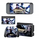 Warriors Orochi 3 decal skin sticker for Nintendo Switch console and controllers