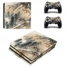Hill Wallpaper decal skin sticker for PS4 Pro console and controllers
