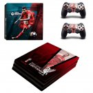 Philippe Coutinho Liverpool decal skin sticker for PS4 Pro console and controllers