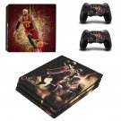 Cleveland Cavaliers decal skin sticker for PS4 Pro console and controllers