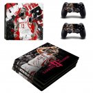 Houston Rockets decal skin sticker for PS4 Pro console and controllers