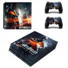 Battlefield 5 world war decal skin sticker for PS4 Pro console and controllers