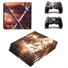 Sword Art Online decal skin sticker for PS4 Pro console and controllers