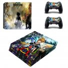 Kingdom Hearts decal skin sticker for PS4 Pro console and controllers