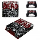 The Walking Dead decal skin sticker for PS4 Pro console and controllers