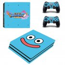 Dragon Quest 11 decal skin sticker for PS4 Pro console and controllers