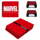 Deadpool decal skin sticker for PS4 Pro console and controllers