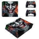 Joker decal skin sticker for PS4 Pro console and controllers