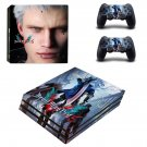 Devil May Cry 5 decal skin sticker for PS4 Pro console and controllers