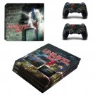 Unravel Two decal skin sticker for PS4 Pro console and controllers