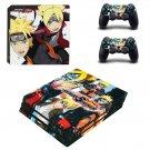 Naruto to Boruto Shinobi Striker decal skin sticker for PS4 Pro console and controllers