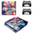 Fate Extella Link decal skin sticker for PS4 Slim console and controllers