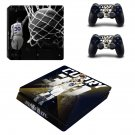 Stephen Curry decal skin sticker for PS4 Slim console and controllers