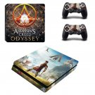 Assassin's Creed Odyssey decal skin sticker for PS4 Slim console and controllers