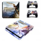 Warriors Orochi 3 decal skin sticker for PS4 Slim console and controllers