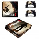 Dying Light 2 decal skin sticker for PS4 Slim console and controllers