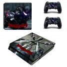Devil May Cry 5 decal skin sticker for PS4 Slim console and controllers