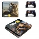 Fallout 76 decal skin sticker for PS4 Slim console and controllers