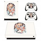 Fish wallpaper decal skin sticker for Xbox One X console and controllers
