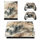 Hill Wallpaper decal skin sticker for Xbox One X console and controllers