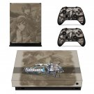 Valkyria Chronicles 4 decal skin sticker for Xbox One X console and controllers