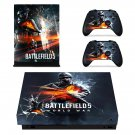 Battlefield 5 world war decal skin sticker for Xbox One X console and controllers