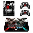 One Piece decal skin sticker for Xbox One X console and controllers
