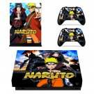 Naruto decal skin sticker for Xbox One X console and controllers