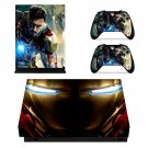 Iron Man decal skin sticker for Xbox One X console and controllers
