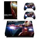 Iron Man tony stark decal skin sticker for Xbox One X console and controllers