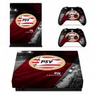 PSV Eindhoven decal skin sticker for Xbox One X console and controllers