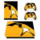 Rockstar Games decal skin sticker for Xbox One X console and controllers