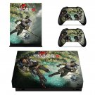 Gears of War 5 decal skin sticker for Xbox One X console and controllers
