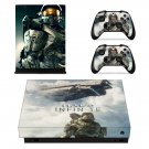 Halo Infinite decal skin sticker for Xbox One X console and controllers
