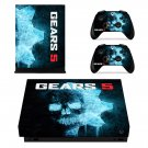 Gears 5 decal skin sticker for Xbox One X console and controllers