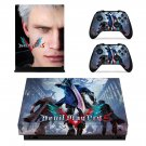 Devil May Cry 5 decal skin sticker for Xbox One X console and controllers