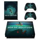 Sea of Solitude decal skin sticker for Xbox One X console and controllers