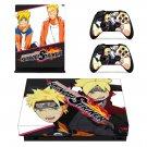 Naruto to Boruto Shinobi Striker decal skin sticker for Xbox One X console and controllers