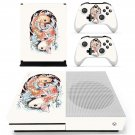 Fish wallpaper decal skin sticker for Xbox One S console and controllers