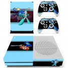 Mega Man 11 decal skin sticker for Xbox One S console and controllers